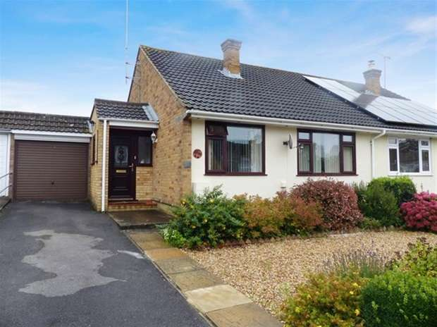 2 Bedrooms Semi Detached Bungalow for sale in Prestbury Drive, Warminster