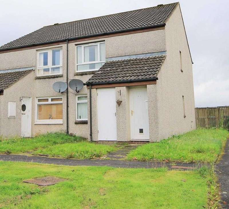1 Bedroom Flat for sale in Lewis Avenue, Wishaw