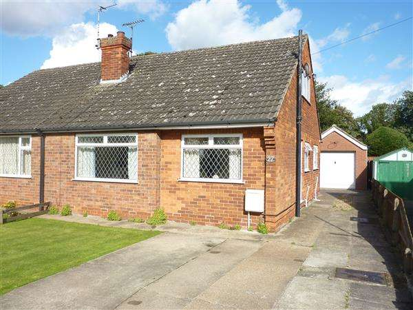 3 Bedrooms Semi Detached Bungalow for sale in ST FRANCIS GROVE, LACEBY, GRIMSBY