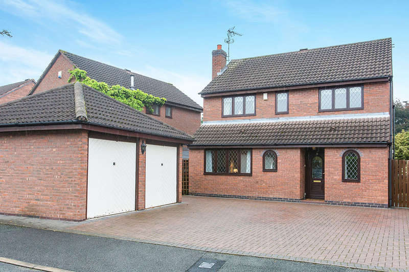 4 Bedrooms Detached House for sale in Ayrshire Way, Congleton, CW12