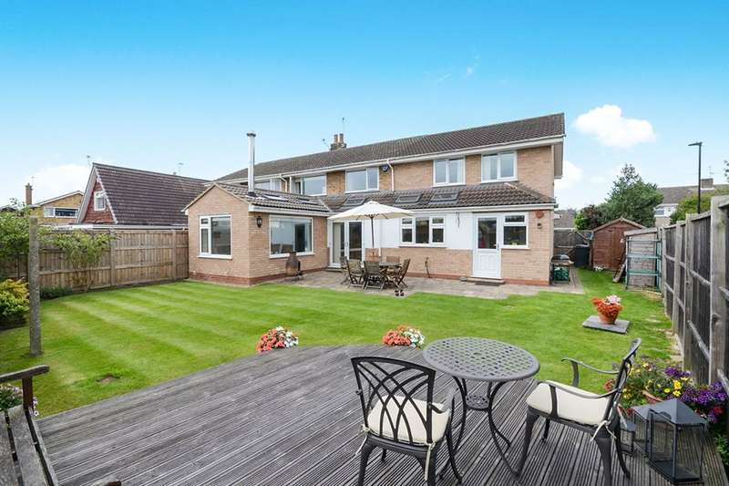 5 Bedrooms Semi Detached House for sale in Old Orchard, Haxby, York, YO32