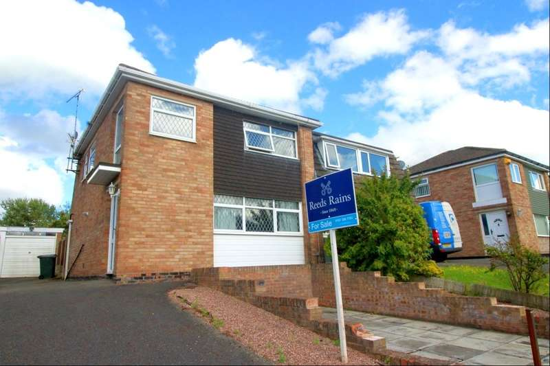 3 Bedrooms Semi Detached House for sale in Hampton Crescent, Neston, CH64