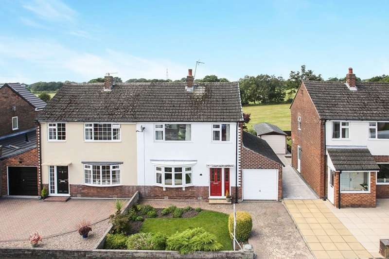 3 Bedrooms Semi Detached House for sale in Hillcrest Road, Gawsworth, Macclesfield, SK11