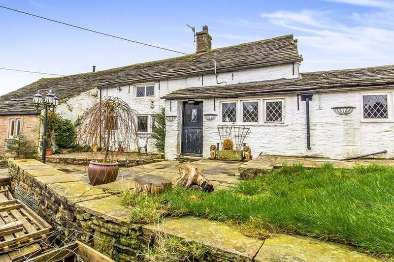 5 Bedrooms Detached House for sale in Tom Heys Farm Glossop Road, Little Hayfield, High Peak, SK22