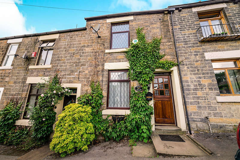 2 Bedrooms Terraced House for sale in Dinting Lane, Glossop, SK13