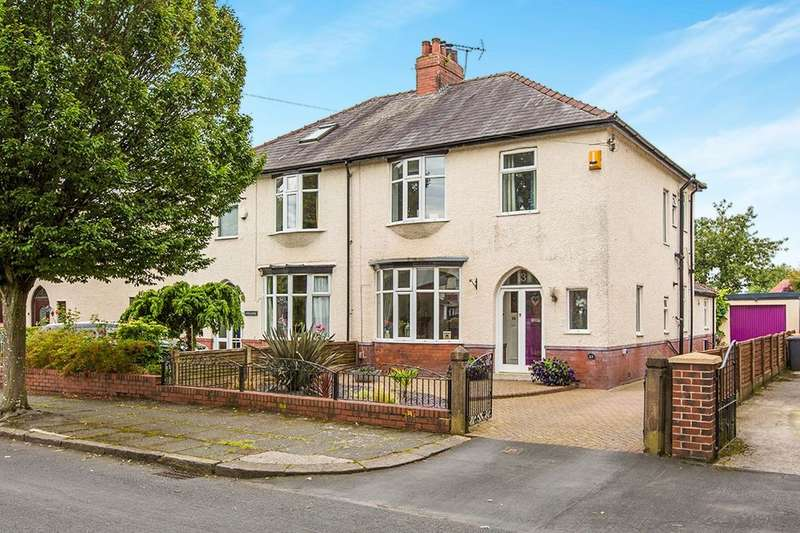 3 Bedrooms Semi Detached House for sale in First Avenue, Ashton-On-Ribble, Preston, PR2