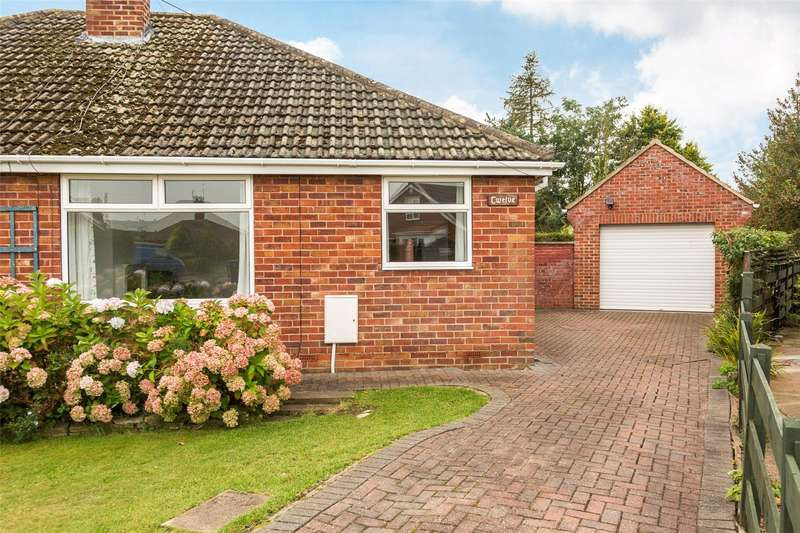 2 Bedrooms Semi Detached Bungalow for sale in Windmill Way, Haxby, York, YO32