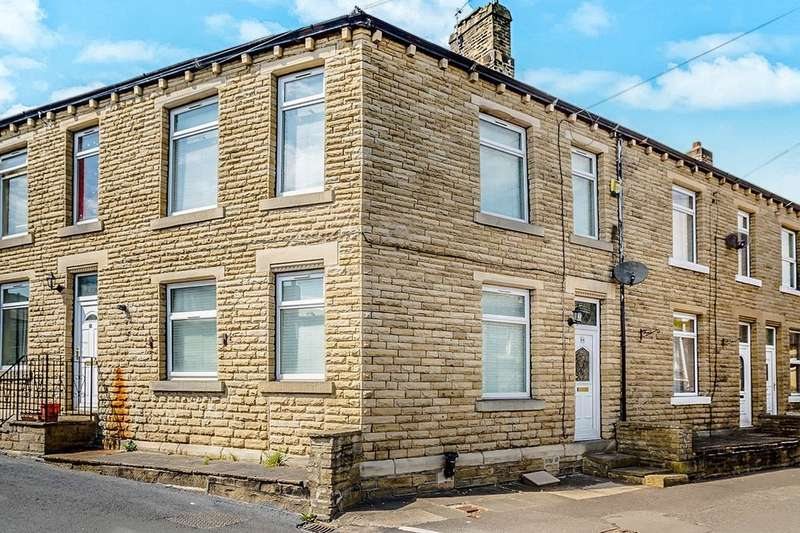3 Bedrooms Terraced House for sale in Leymoor Road, Longwood, Huddersfield, HD3