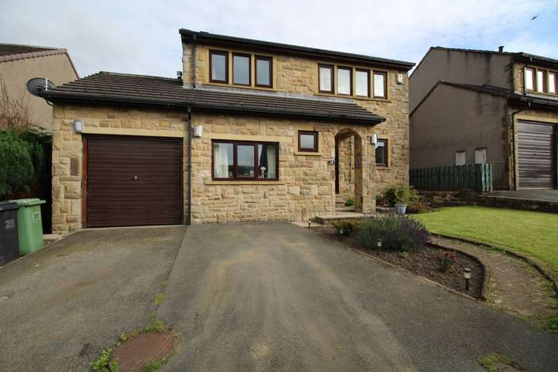 4 Bedrooms Detached House for sale in Laithe Avenue, Holmbridge, Holmfirth, HD9