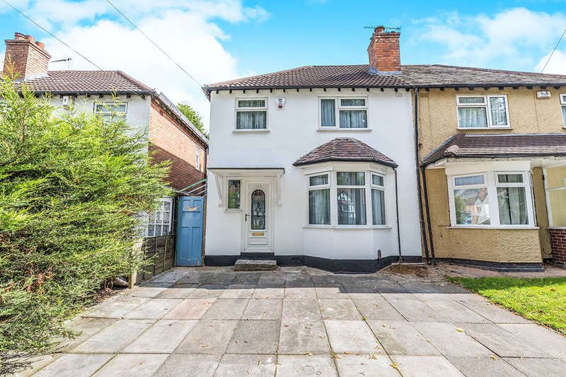 3 Bedrooms Semi Detached House for sale in Sarehole Road, Birmingham, B28