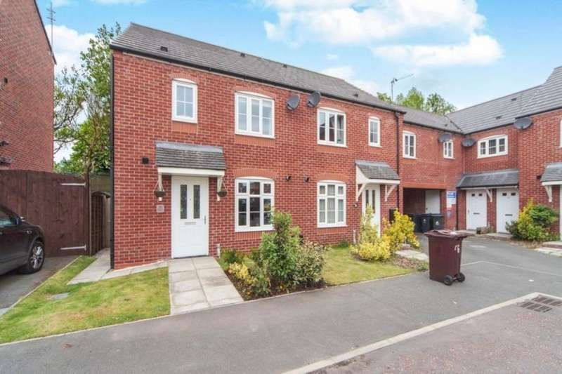 3 Bedrooms Semi Detached House for sale in Speakman Way, Prescot, L34