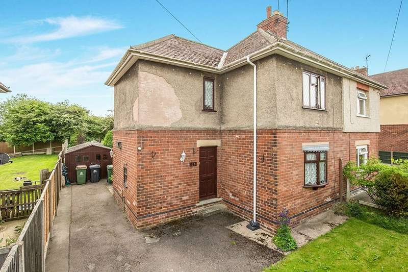 3 Bedrooms Semi Detached House for sale in Milton Avenue, Alfreton, DE55