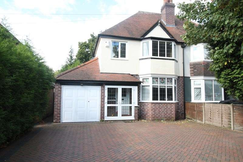 3 Bedrooms Semi Detached House for sale in Stratford Road, Shirley, Solihull