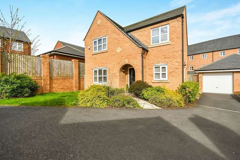 4 Bedrooms Detached House for sale in Beamish Close, St. Helens, WA9