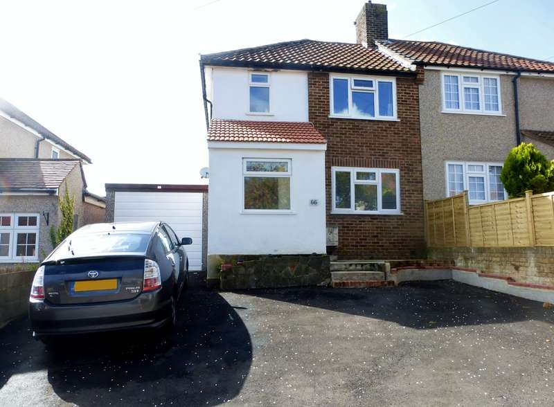 3 Bedrooms Semi Detached House for sale in Grenville Road, New Addington, Croydon, CR0
