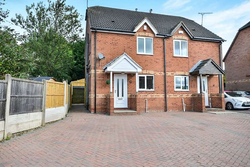 3 Bedrooms Semi Detached House for sale in Birchen Holme, South Normanton, Alfreton, DE55