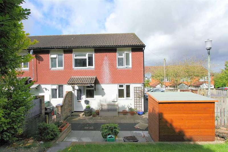 3 Bedrooms End Of Terrace House for sale in Ash Close, Tidworth