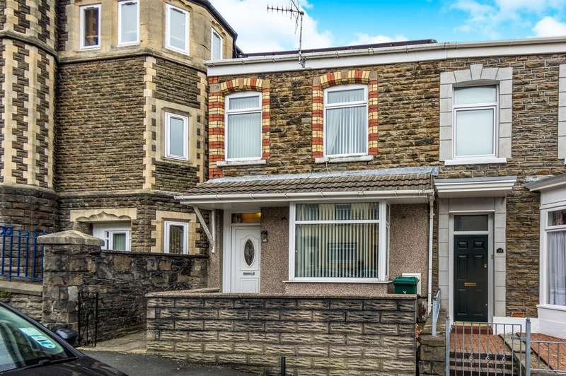 3 Bedrooms End Of Terrace House for sale in Ysgol Street, Port Tennant, Swansea