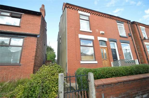 2 Bedrooms Semi Detached House for sale in Cheadle Old Road, Edgeley, Stockport, Cheshire