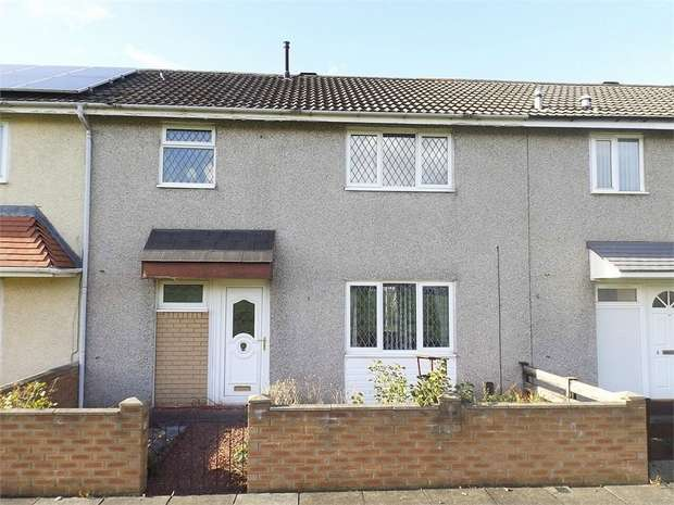 3 Bedrooms Terraced House for sale in Chathill Walk, Ormesby, Middlesbrough, North Yorkshire