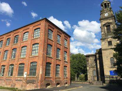 1 Bedroom Flat for sale in Mac Court, St. Thomas's Place, Stockport, Greater Manchester