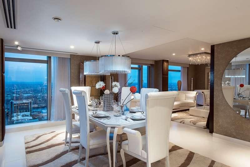 3 Bedrooms Apartment Flat for rent in Pan Peninsula Square London E14