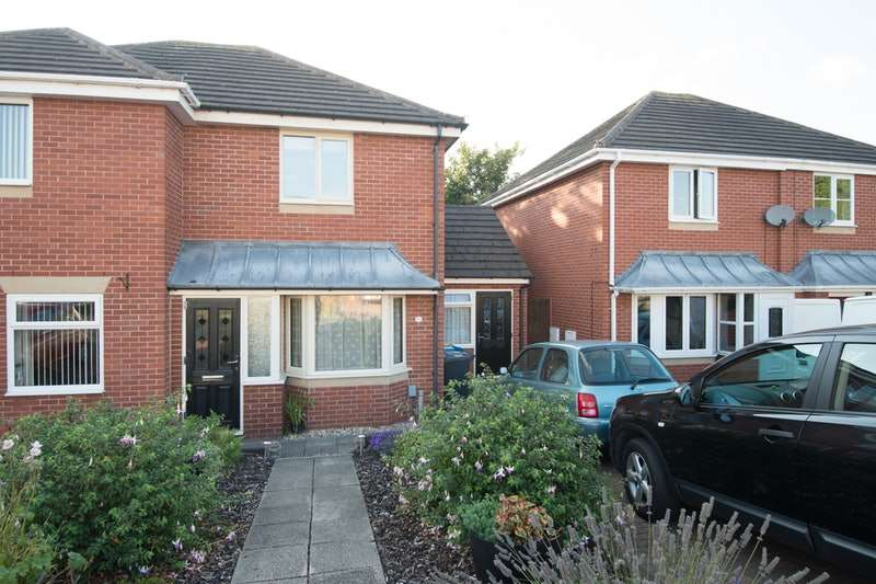2 Bedrooms Semi Detached House for sale in Riverfield Grove, Tamworth, Staffordshire, B77