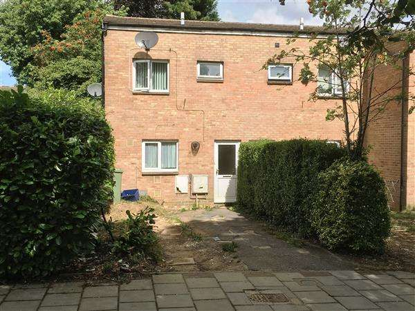 2 Bedrooms End Of Terrace House for sale in Bramble Avenue, Conniburrow, Milton Keynes