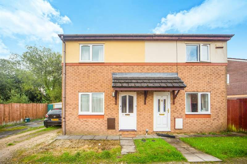 2 Bedrooms Semi Detached House for sale in Heol Ty Crwn, Caerphilly