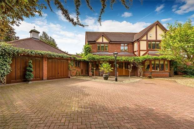 5 Bedrooms Detached House for sale in 26 Goldcrest Grove, Apley, Telford, Shropshire