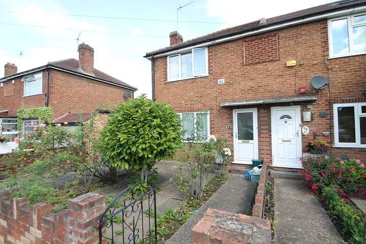 2 Bedrooms End Of Terrace House for sale in Cassiobury Avenue, Feltham, TW14