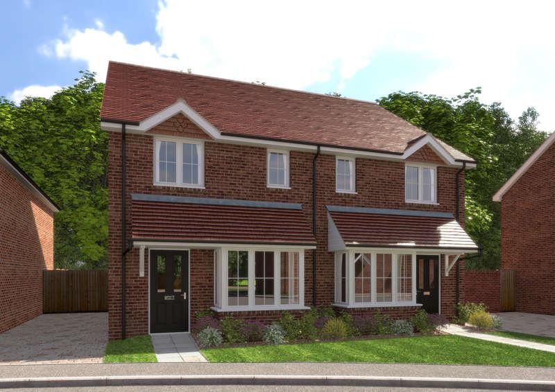 3 Bedrooms Semi Detached House for sale in Billingshurst