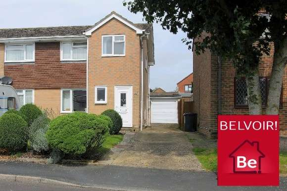 3 Bedrooms Semi Detached House for sale in Tower Close, Charlton , Andover