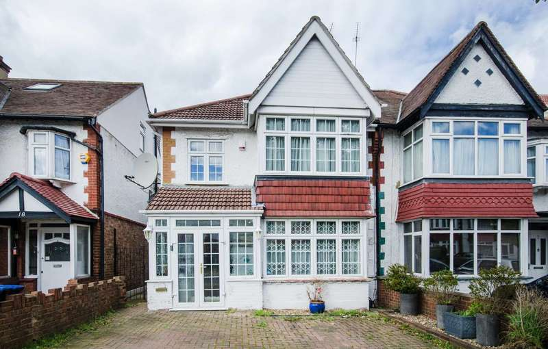 3 Bedrooms Semi Detached House for sale in The Dene, Wembley, HA9
