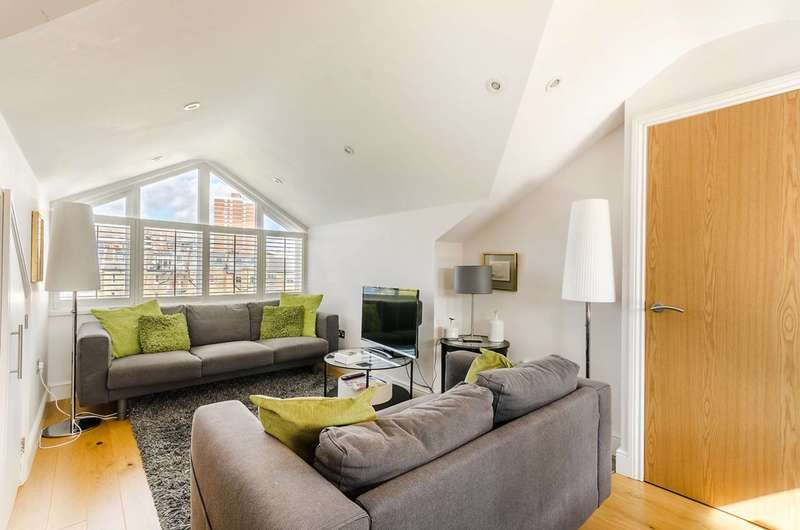 4 Bedrooms Flat for sale in Netherwood Road, Brook Green, W14