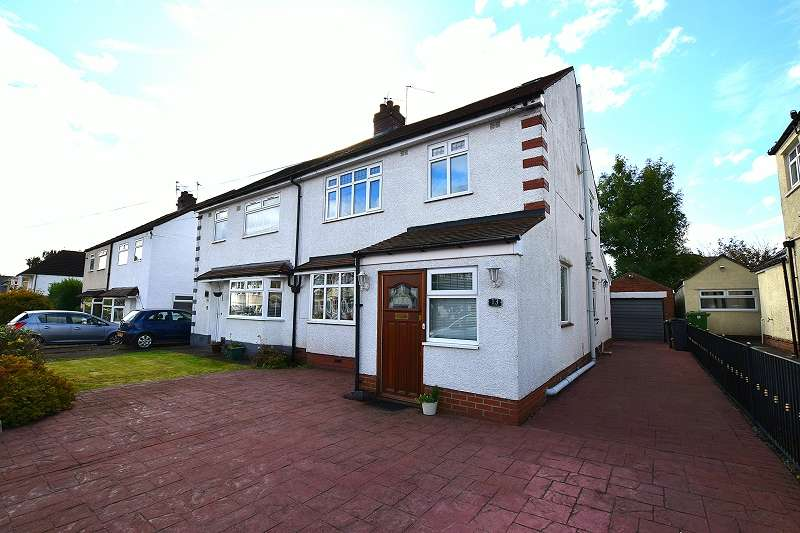 4 Bedrooms Semi Detached House for sale in Heol Iscoed , Rhiwbina, Cardiff. CF14 6PA