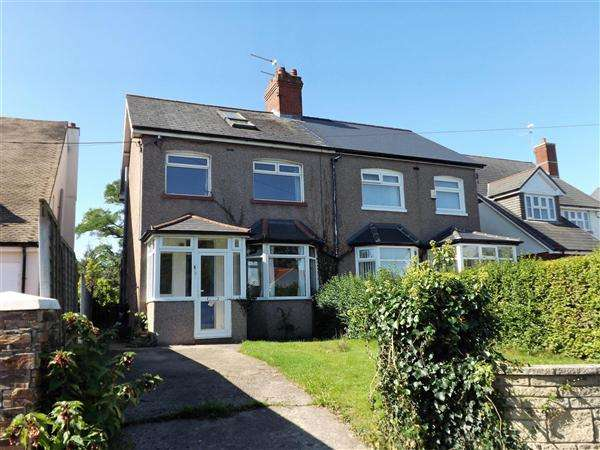 4 Bedrooms Semi Detached House for sale in Fern Cottage, 291 Marshfield Road, Cardiff