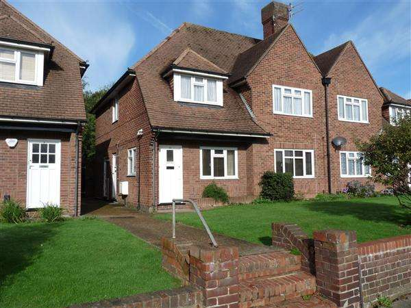 2 Bedrooms Apartment Flat for sale in Rectory Close, Glebe Villas, Portslade