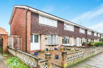 3 Bedrooms End Of Terrace House for sale in Bingen Road, Hitchin, Hertfordshire, England