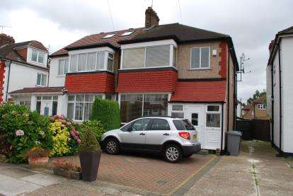 3 Bedrooms Semi Detached House for sale in Second Avenue, Wembley, London