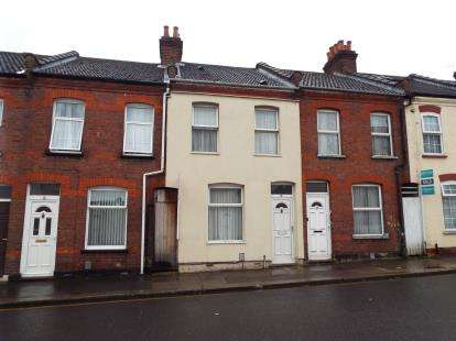 3 Bedrooms Terraced House for sale in Hampton Road, Luton, Bedfordshire