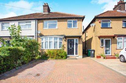 3 Bedrooms Semi Detached House for sale in Hazeltree Road, Watford, Hertfordshire, .