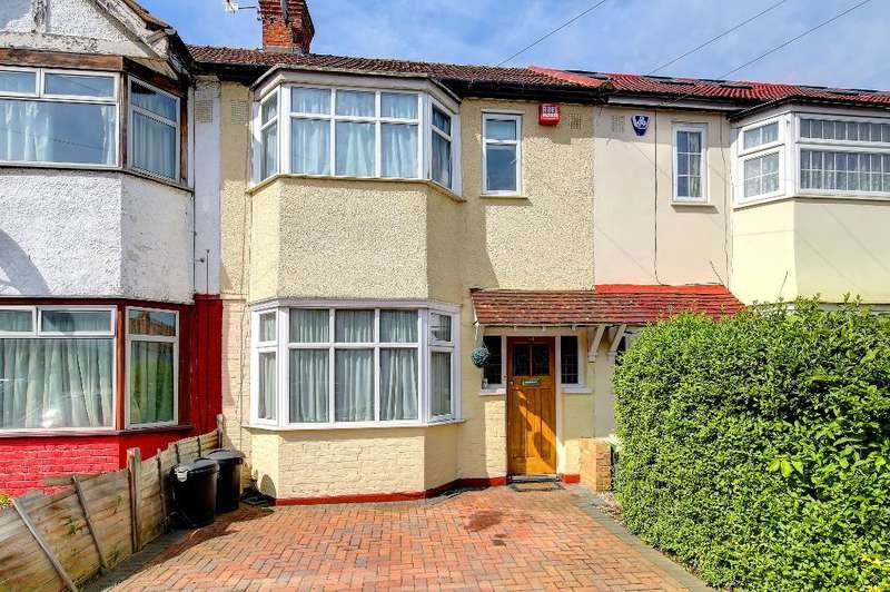 3 Bedrooms Terraced House for sale in Byron Avenue, New Malden, KT3 6EY