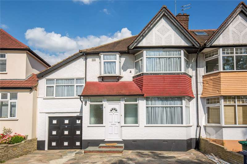 5 Bedrooms Semi Detached House for sale in Glendor Gardens, Mill Hill, London, NW7