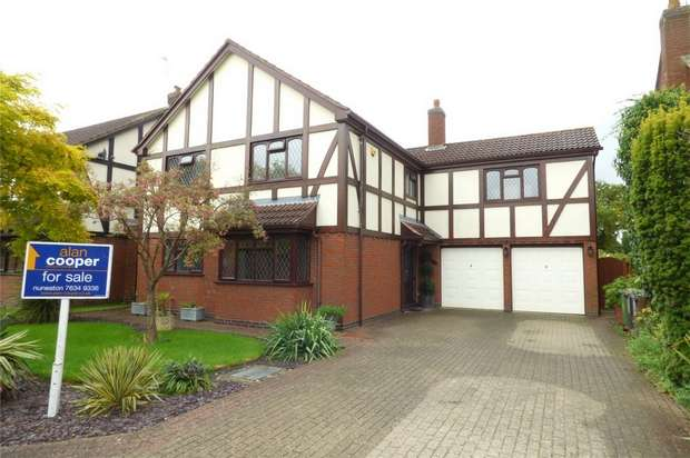 5 Bedrooms Detached House for sale in Norwich Close, St Nicolas Park, Nuneaton, Warwickshire