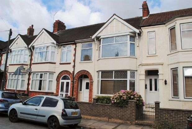3 Bedrooms Terraced House for sale in Balmoral Road, Kingsthorpe, Northampton NN2 6LA