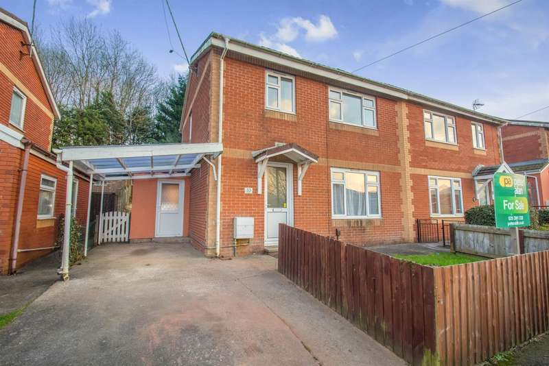 3 Bedrooms Semi Detached House for sale in Ty Rhiw, Taffs Well, Cardiff