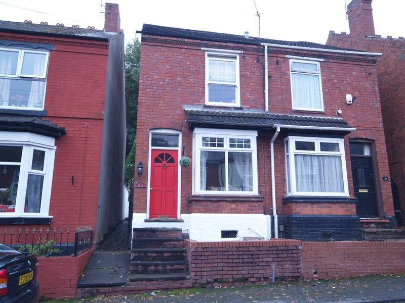 2 Bedrooms Semi Detached House for sale in Crescent Road, Dudley