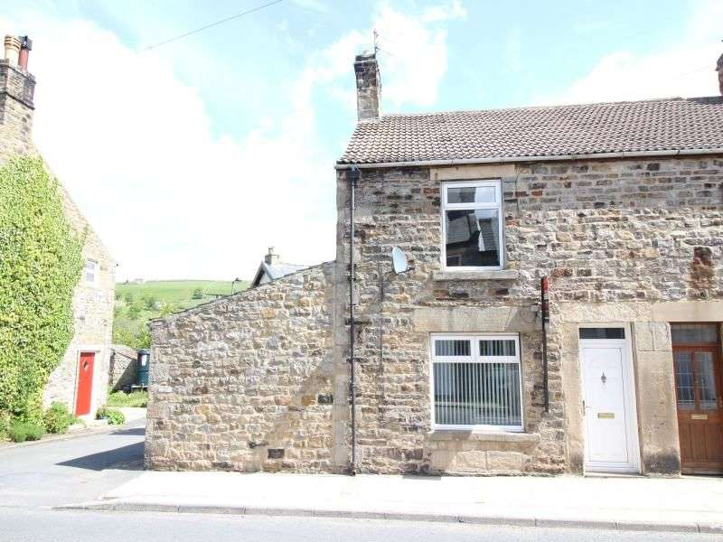 2 Bedrooms Semi Detached House for sale in Hood Street, St. Johns Chapel, Bishop Auckland, DL13
