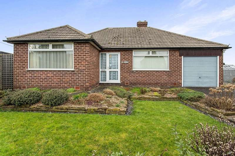 3 Bedrooms Detached Bungalow for sale in Ashover Road, Old Tupton, Chesterfield, S42